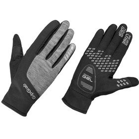 GripGrab Hurricane Gloves Women Black/Grey